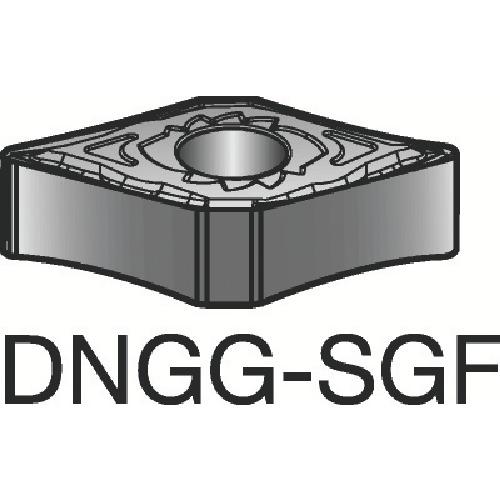 サンドビック T-Max P 旋削用ネガ・チップ H13A 10個 DNGG 15 04 08-SGF:H13A