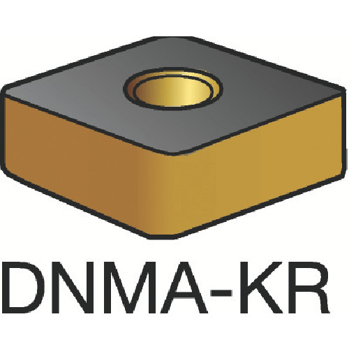 サンドビック T-Max P 旋削用ネガ・チップ 3205 10個 DNMA 15 06 08-KR:3205
