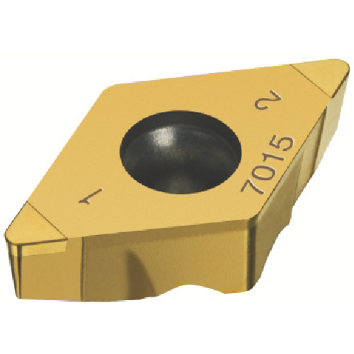 サンドビック コロターンTR 旋削用ポジ・チップ 7015 5個 TR-DC1304S01020F:7015
