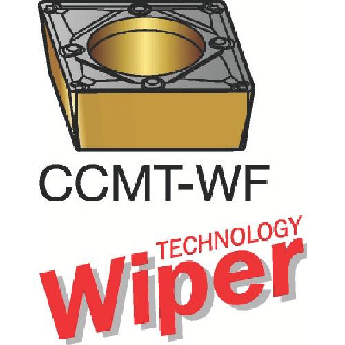 サンドビック コロターン107 旋削用ポジ・チップ 1125 10個 CCMT 09 T3 04-WF:1125