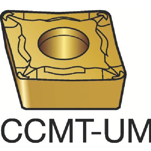 サンドビック コロターン107 旋削用ポジ・チップ 235 10個 CCMT 09 T3 08-UM:235