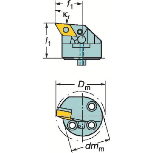 サンドビック コロターンSL 570カッティングヘッド L571.35C-403227-15