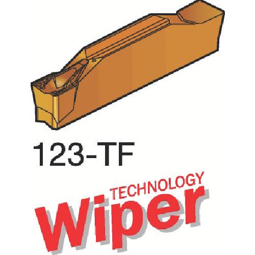 サンドビック コロカット1 突切り・溝入れチップ H13A 10個 N123H1-0400-0004-TF:H13A