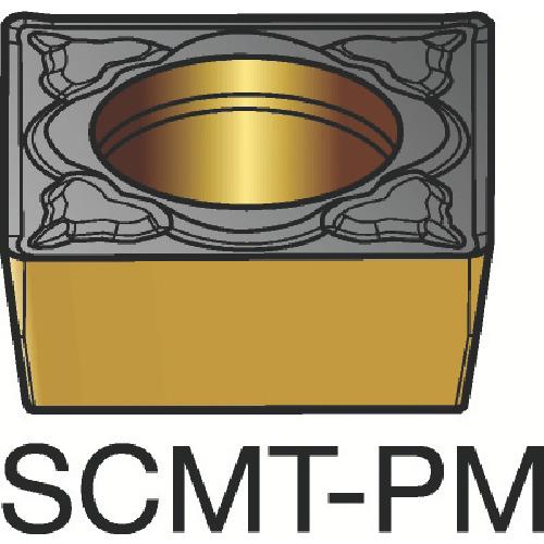 サンドビック コロターン107 旋削用ポジ・チップ 5015 10個 SCMT 09 T3 08-PM:5015