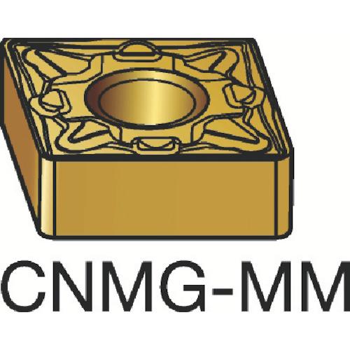 サンドビック T-Max P 旋削用ネガ・チップ 2035 10個 CNMG 16 06 16-MM:2035