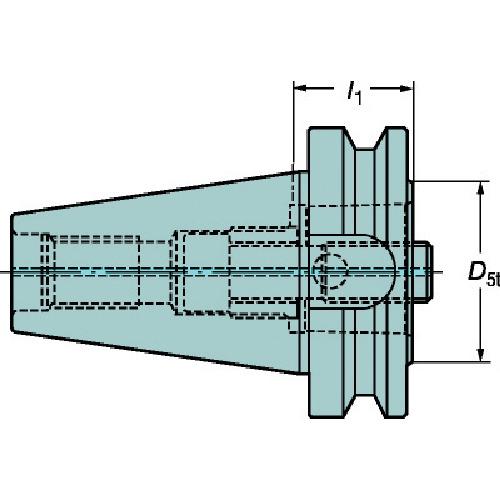 サンドビック コロマントキャプト ベーシックホルダ C6-390.58-50 040