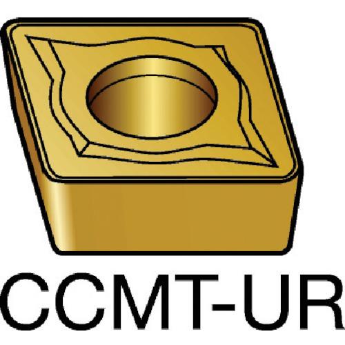 サンドビック コロターン107 旋削用ポジ・チップ 235 10個 CCMT 06 02 04-UR:235