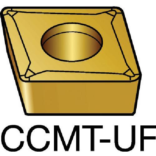 サンドビック コロターン107 旋削用ポジ・チップ 5015 10個 CCMT 09 T3 04-UF:5015