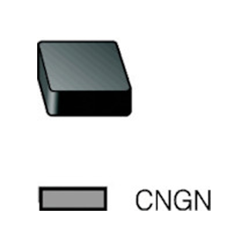 サンドビック T-Max P 旋削用セラミックネガ・チップ 670 10個 CNGN 12 07 12T01020:670