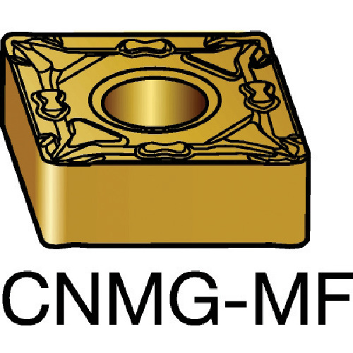 サンドビック T-Max P 旋削用ネガ・チップ 5015 10個 CNMG 12 04 04-MF:5015