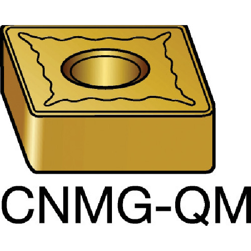 サンドビック T-Max P 旋削用ネガ・チップ H13A 10個 CNMG 12 04 04-QM:H13A