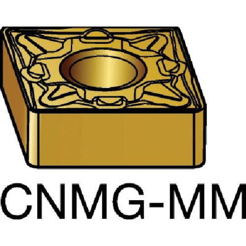 サンドビック T-Max P 旋削用ネガ・チップ 2025 10個 CNMG 16 06 16-MM:2025