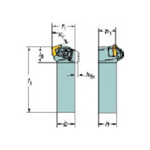 サンドビック コロターンRC ネガチップ用シャンクバイト DCKNL 2525M 12