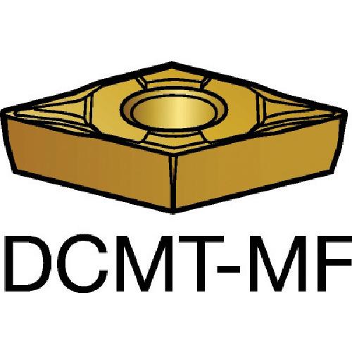 サンドビック コロターン107 旋削用ポジ・チップ 2015 10個 DCMT 07 02 04-MF:2015