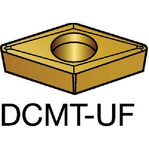 サンドビック コロターン107 旋削用ポジ・チップ 1125 10個 DCMT 07 02 04-UF:1125