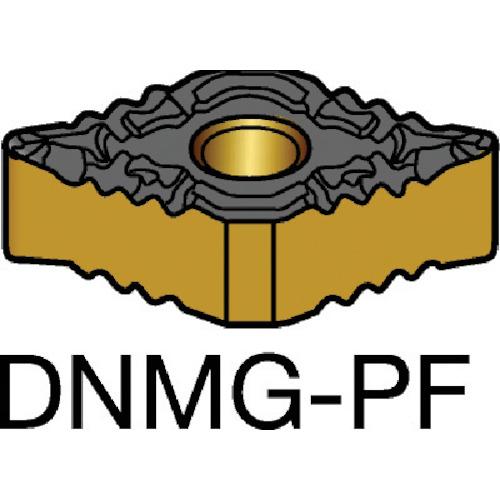 サンドビック T-Max P 旋削用ネガ・チップ 1525 10個 DNMG 11 04 04-PF:1525