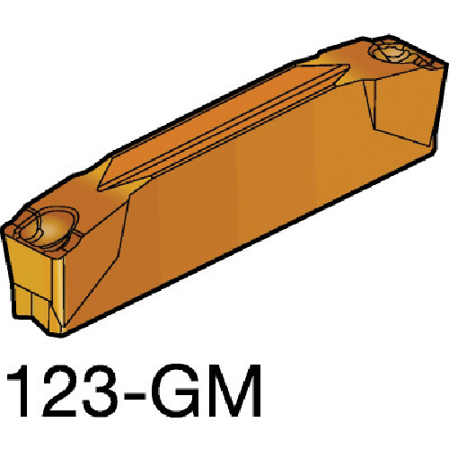 サンドビック コロカット2 突切り・溝入れチップ 2135 10個 N123H2-0400-0003-GM:2135