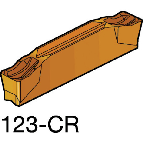 サンドビック コロカット2 突切り・溝入れチップ 1125 10個 N123J2-0500-0004-CR:1125