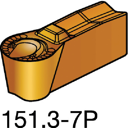 サンドビック T-Max Q-カット 突切り・溝入れチップ 1125 10個 N151.3-300-25-7P:1125