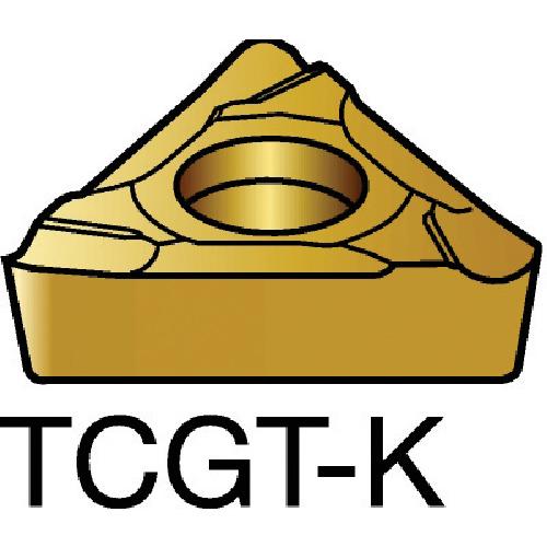 サンドビック コロターン107 旋削用ポジ・チップ 5015 10個 TCGT 11 02 04L-K:5015