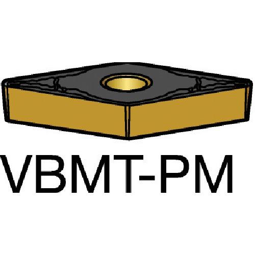 サンドビック コロターン107 旋削用ポジ・チップ 5015 10個 VBMT 16 04 12-PM:5015