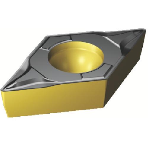 サンドビック コロターン107 旋削用ポジ・チップ 4325 10個 DCMT 07 02 04-PF:4325