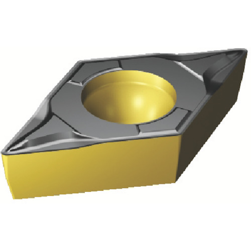 サンドビック コロターン107 旋削用ポジ・チップ 4325 10個 DCMT 11 T3 02-PF:4325