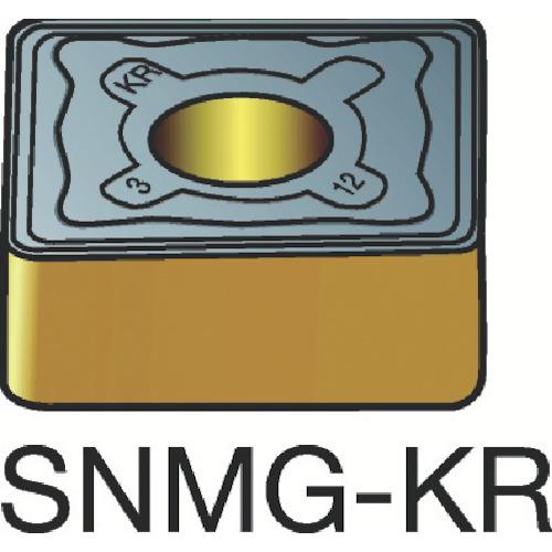サンドビック T-Max P 旋削用ネガ・チップ 3205 10個 SNMG 12 04 08-KR:3205