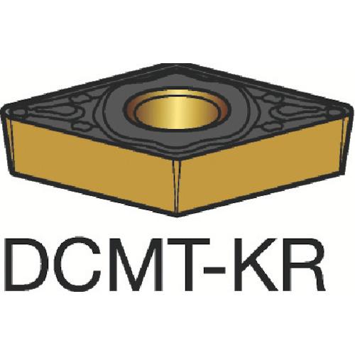 サンドビック コロターン107 旋削用ポジ・チップ 3210 10個 DCMT 11 T3 08-KR:3210