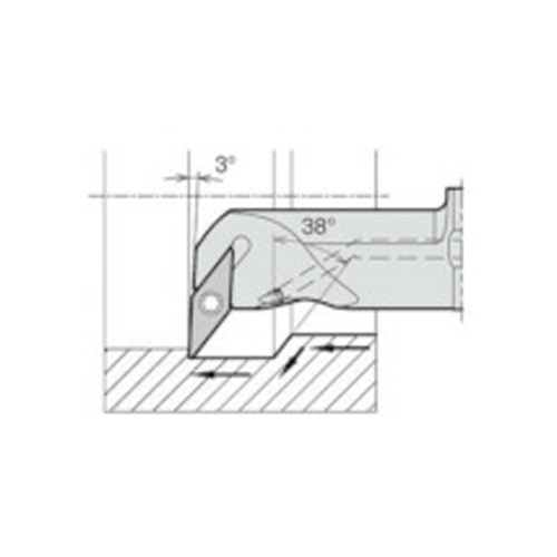 卸し売り購入 京セラ A32S-SVUBR16-40AE:工具屋「まいど!」 内径加工用ホルダ-DIY・工具