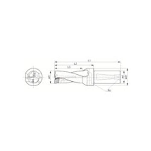 京セラ ドリル用ホルダ S25-DRZ2550-08