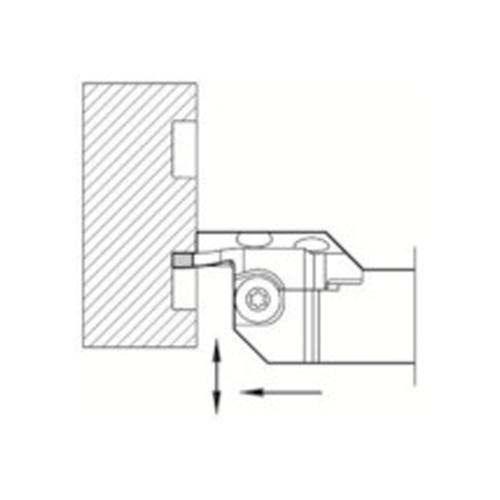 京セラ 溝入れ用ホルダ KGDFL-65-3B-C