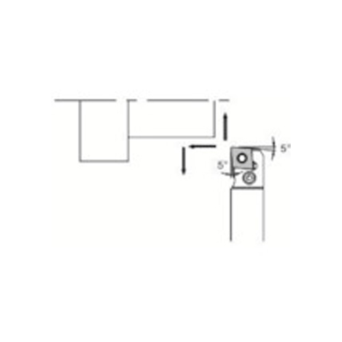 京セラ スモールツール用ホルダ PCLNR1620JX-12FF