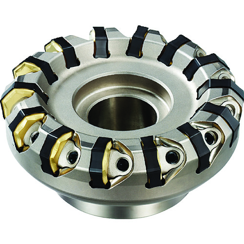 三菱 スーパーダイヤミル 10枚刃外径100取付穴31.75ーR AHX640WR10010D