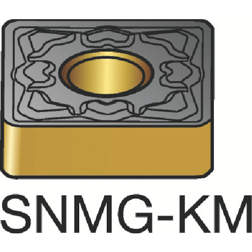 サンドビック T-Max P 旋削用ネガ・チップ 3210 10個 SNMG 09 03 08-KM:3210