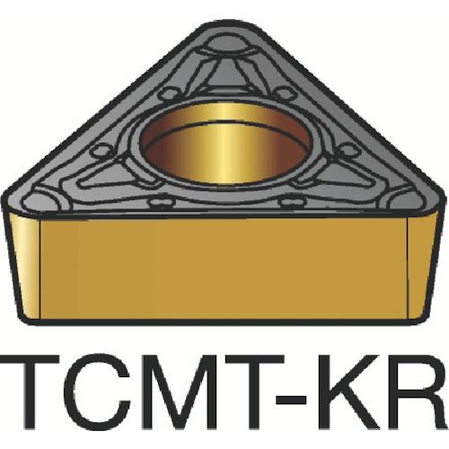 サンドビック コロターン107 旋削用ポジ・チップ 3205 10個 TCMT 16 T3 08-KR:3205
