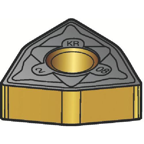 サンドビック T-Max P 旋削用ネガ・チップ 3210 10個 WNMG 06 04 08-KR:3210