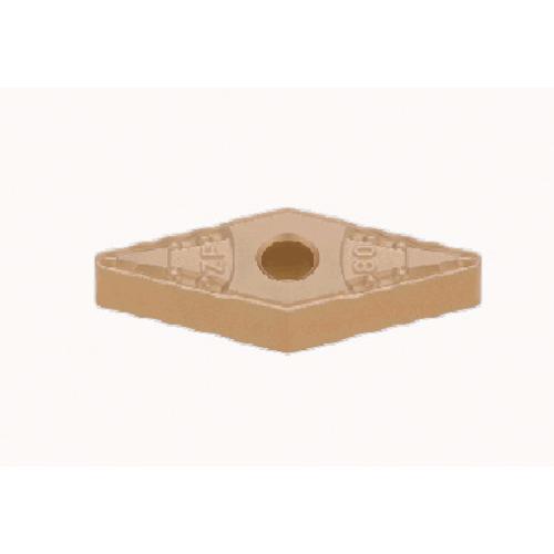タンガロイ 旋削用M級ネガTACチップ COAT 10個 VNMG160408-ZF:T9115