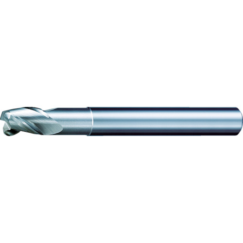 三菱K ALIMASTER超硬ラジアスエンドミル(アルミニウム合金用・S) C3SARBD1800R100