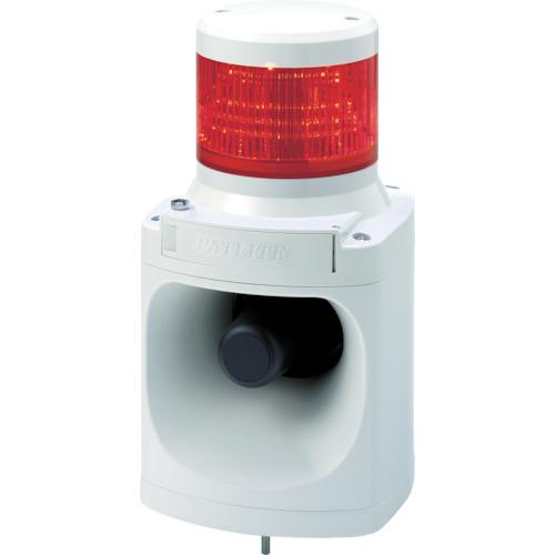 パトライト LED積層信号灯付き電子音報知器 色:赤 LKEH-102FA-R