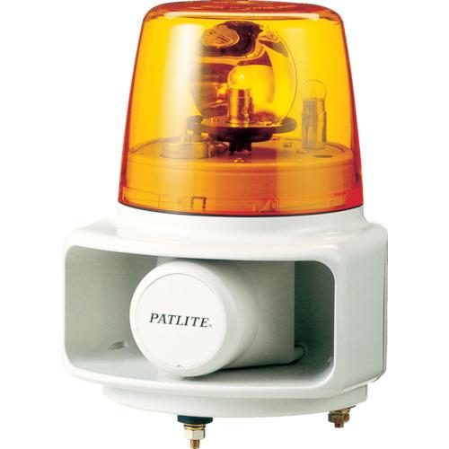 パトライト ラッパッパホーンスピーカー一体型 色:黄 RT-24A-Y