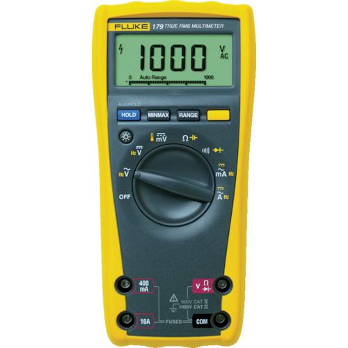 100%本物保証! FLUKE 179:工具屋「まいど!」 デジタル・マルチメーター(真の実効値・バックライト仕様)-DIY・工具