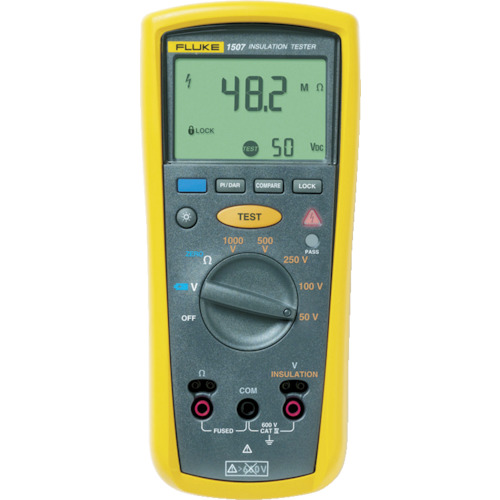 FLUKE デジタル絶縁抵抗計 正規品 メイルオーダー 1507 5レンジ