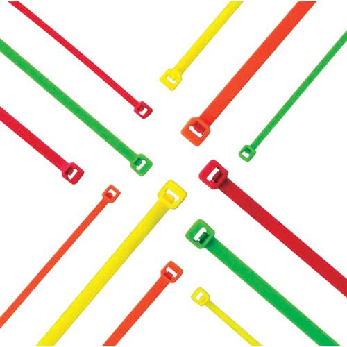 パンドウイット ナイロン結束バンド 蛍光オレンジ (1000本入) PLT2I-M53