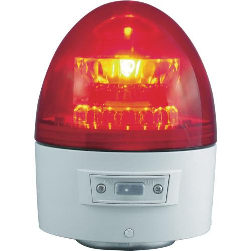 NIKKEI ニコカプセル VL11B型 LED回転灯 118パイ 赤 VL11B-003AR