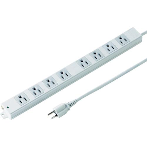 SANWA 工事物件タップ ノーマルコンセント 8個口 ケーブル長5m TAP-KE8N-5