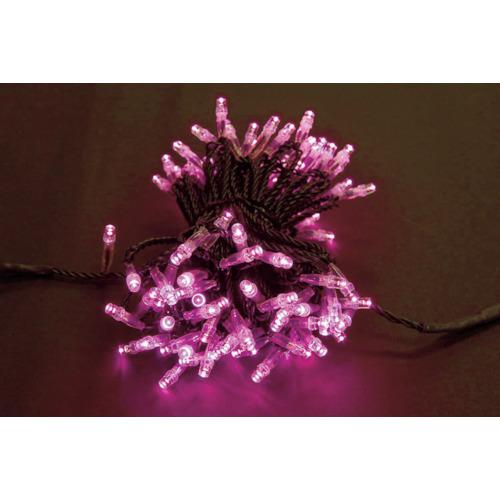 トライト LEDイルミネーション ピンク色 NSBP1-100-100P/2