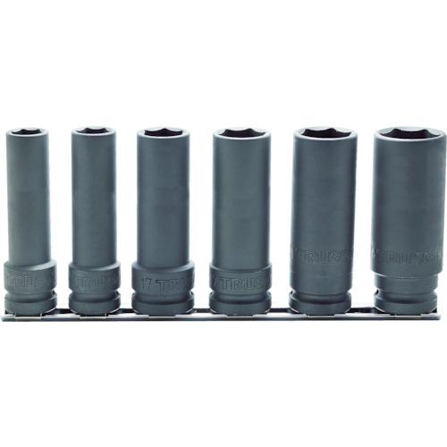 TRUSCO インパクト用超ロングソケットセット 長さ100mm T4-6SL-100-SET