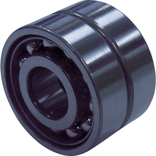 NTN B中形ボールベアリング(接触角40度背面組合せ)内径75mm外径160mm幅74mm 7315BDB