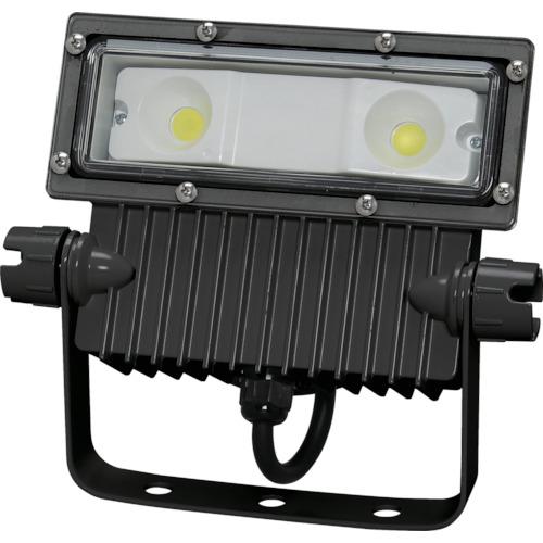 【直送品】IRIS 角型投光器25W 広角 2840lm ブラック IRLDSP25N2-W-BK